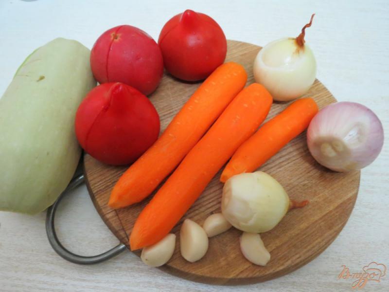 Фото приготовление рецепта: Соте из кабачков шаг №2