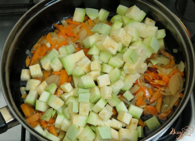 Фото приготовление рецепта: Соте из кабачков шаг №9