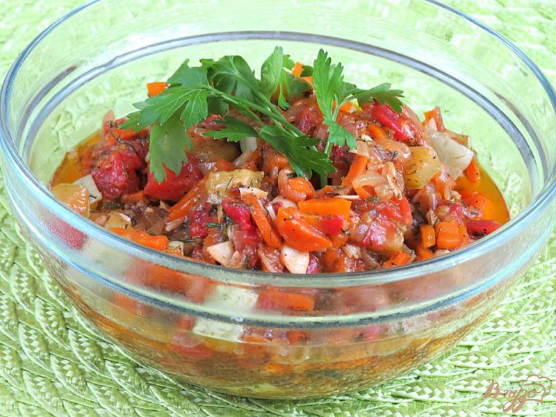 Фото приготовление рецепта: Соте из кабачков шаг №12