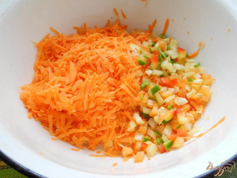 Фото приготовление рецепта: Заправка для супа на зиму шаг №1