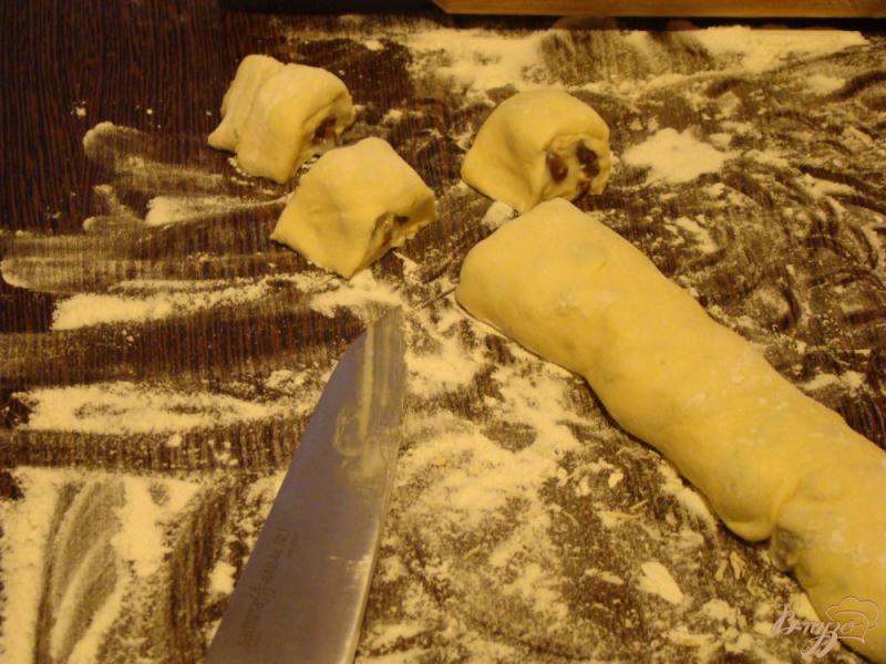 Фото приготовление рецепта: Французские булочки шаг №6