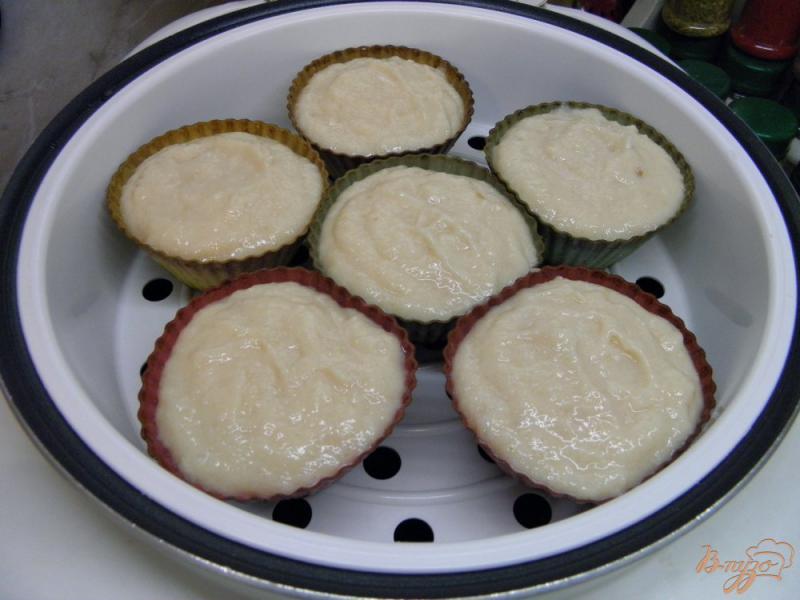 Фото приготовление рецепта: Суфле из индейки шаг №4