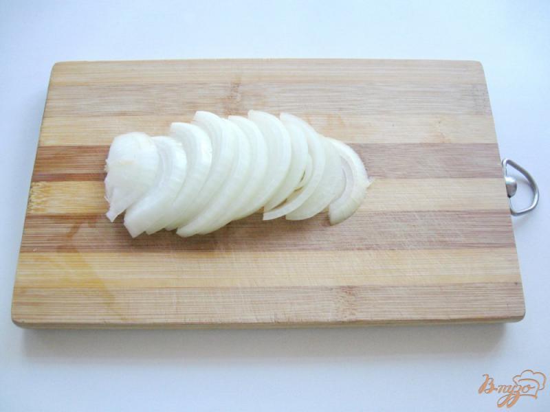 Фото приготовление рецепта: Маринованные кабачки с морковью шаг №4