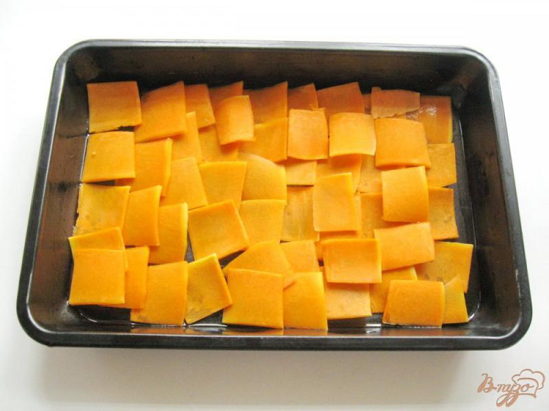 Фото приготовление рецепта: Запеканка из тыквы, кабачков и картофеля шаг №4