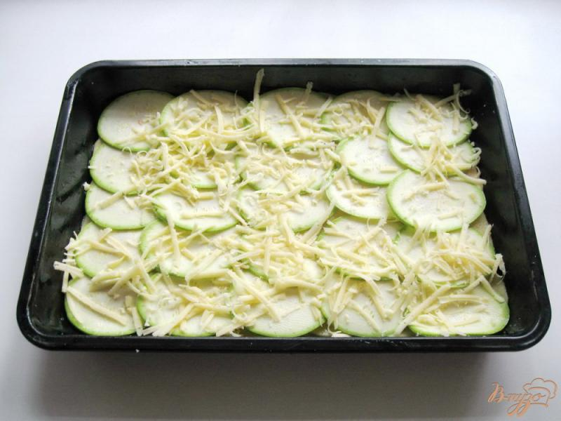 Фото приготовление рецепта: Запеканка из тыквы, кабачков и картофеля шаг №7