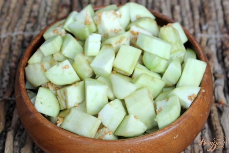 Фото приготовление рецепта: Овощное гювече замороженное на зиму шаг №2