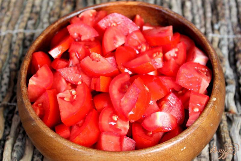 Фото приготовление рецепта: Овощное гювече замороженное на зиму шаг №4