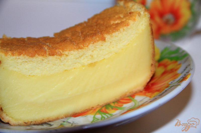 Фото приготовление рецепта: « Умный» трехслойный пирог шаг №10