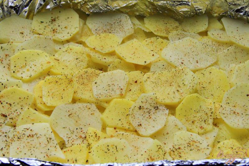 Фото приготовление рецепта: Овощная запеканка с фаршем шаг №1