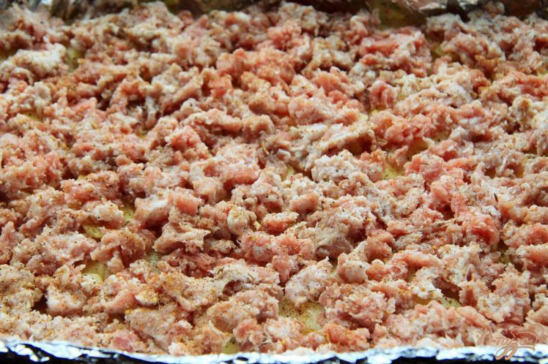 Фото приготовление рецепта: Овощная запеканка с фаршем шаг №2