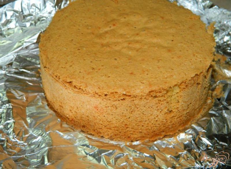 Фото приготовление рецепта: Быстрый пирог на майонезе шаг №4