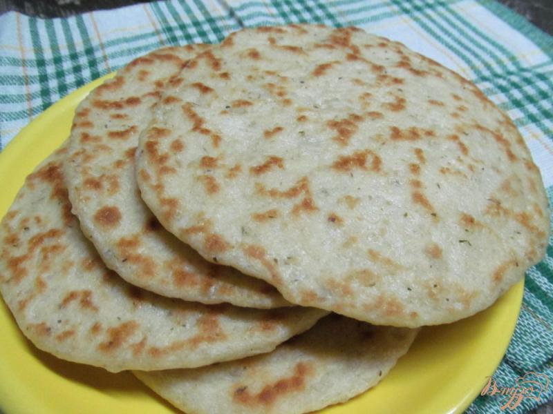 Фото приготовление рецепта: Рисовые лепешки шаг №5