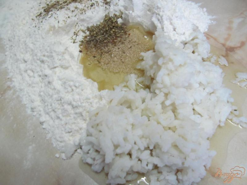 Фото приготовление рецепта: Рисовые лепешки шаг №1