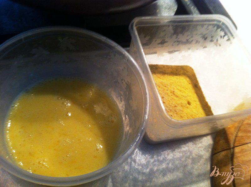 Фото приготовление рецепта: Жаренная мякоть куриного бедра, шаг №2