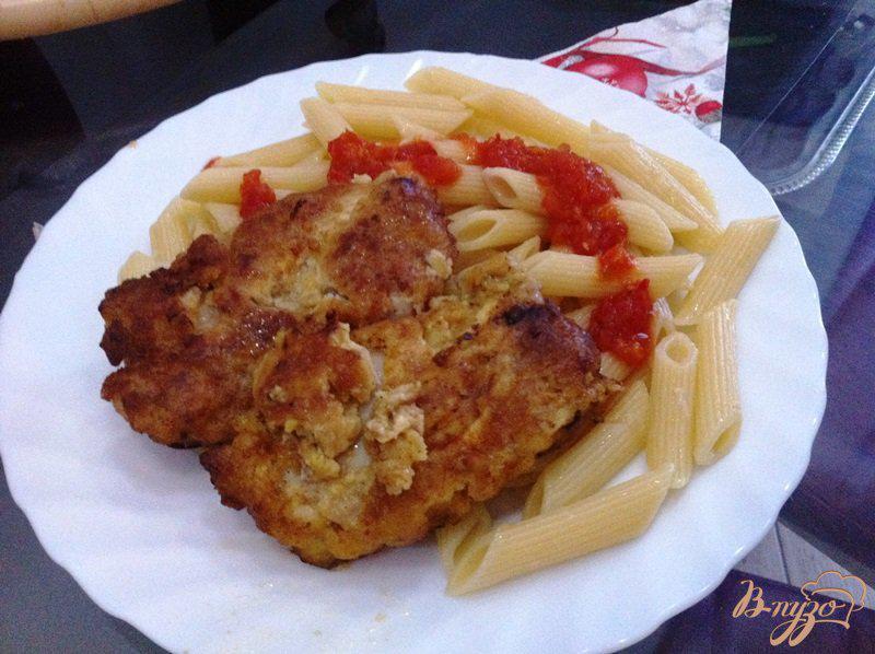 Фото приготовление рецепта: Жаренная мякоть куриного бедра, шаг №8
