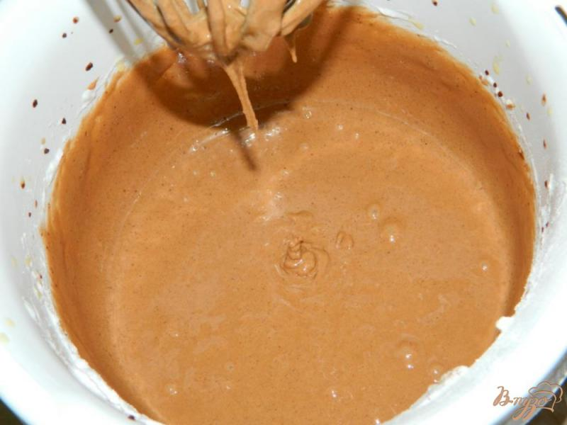 Фото приготовление рецепта: Шоколадный бисквит для торта шаг №3