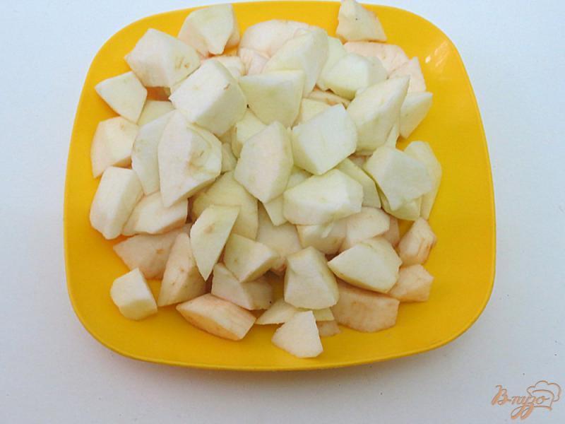 Фото приготовление рецепта: Яблочный суп шаг №2