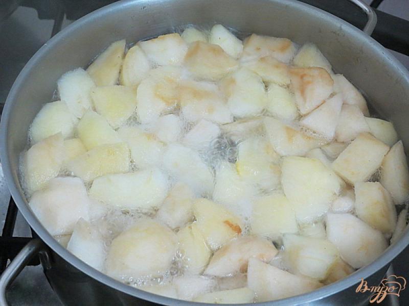 Фото приготовление рецепта: Яблочный суп шаг №3