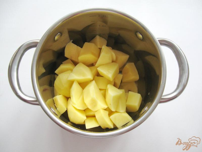 картофелем заняли