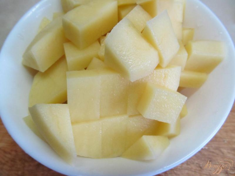 Фото приготовление рецепта: Суп на бульоне из баранины с нутом шаг №4
