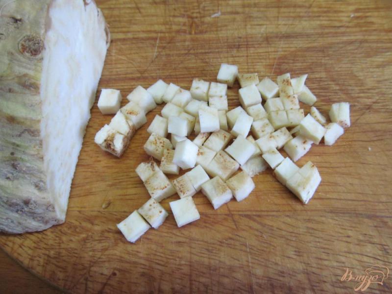 Фото приготовление рецепта: Суп на бульоне из баранины с нутом шаг №5