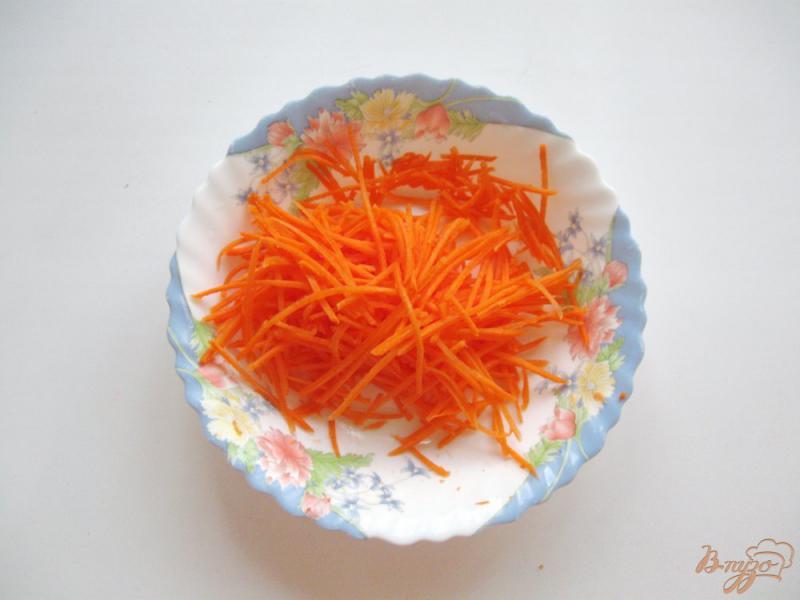 Фото приготовление рецепта: Салат с морковью, огурцом и капустой шаг №1