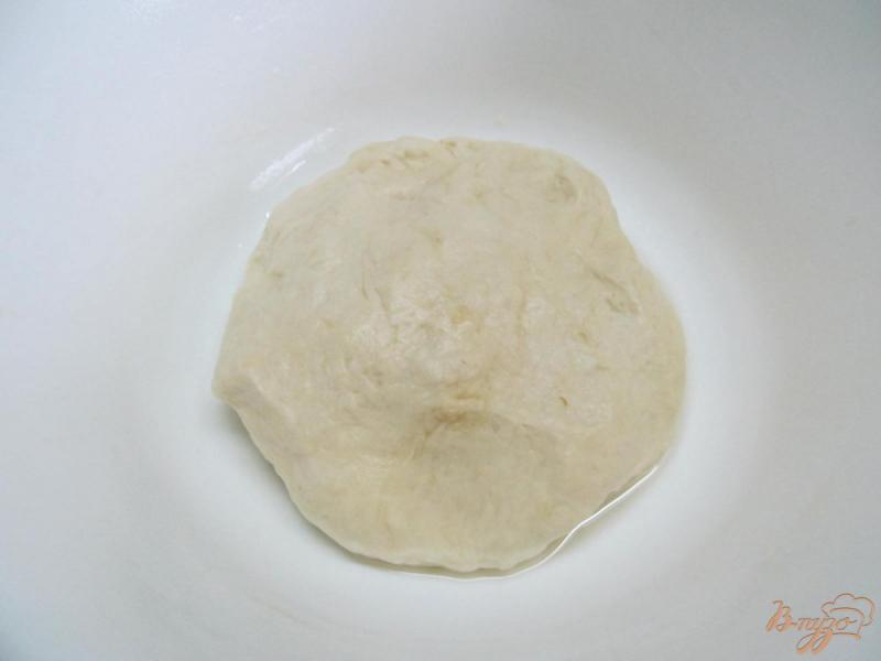 Фото приготовление рецепта: Фокачча с творогом и помидором шаг №2