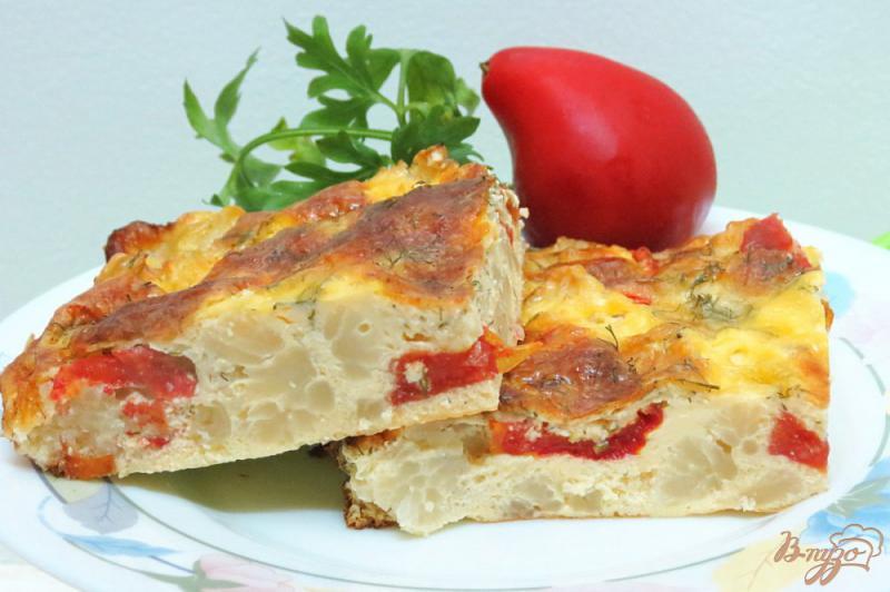 Фото приготовление рецепта: Запеканка из цветной капусты с яйцом и сыром шаг №11