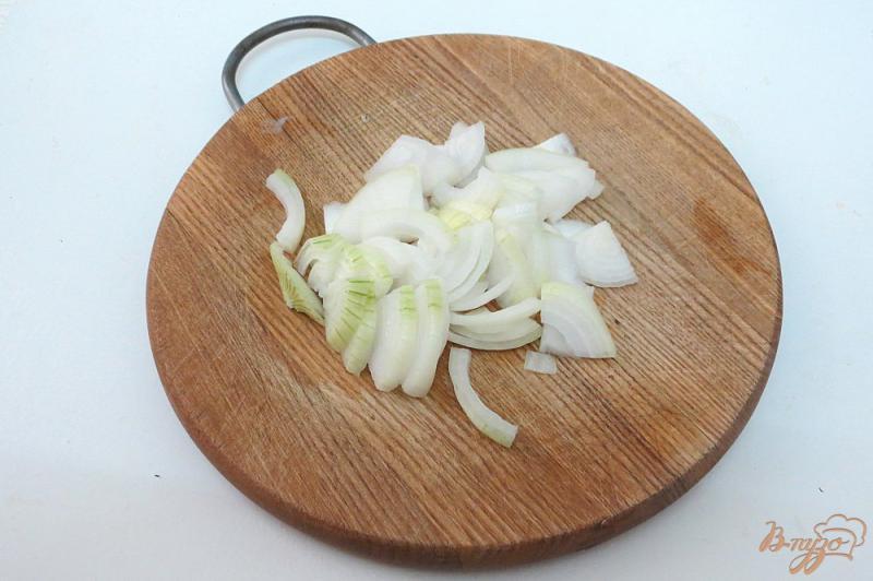 Фото приготовление рецепта: Ботвинья с грибами шаг №5