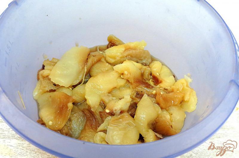 Фото приготовление рецепта: Закуска из запеченных баклажанов и перца шаг №5