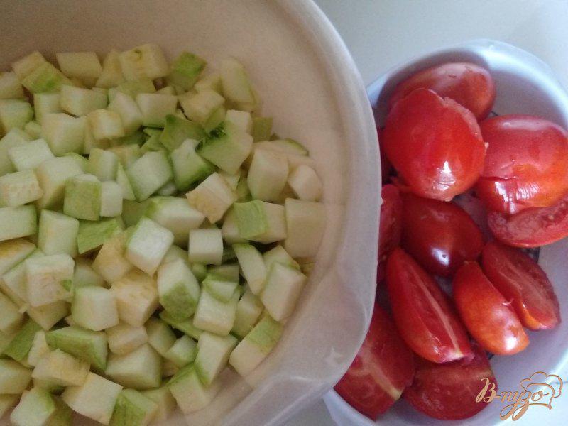 Фото приготовление рецепта: Икра из кабачков в мультиварке с давлением шаг №1