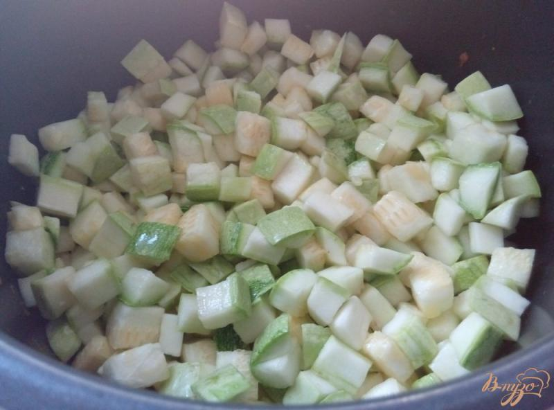 Фото приготовление рецепта: Икра из кабачков в мультиварке с давлением шаг №4