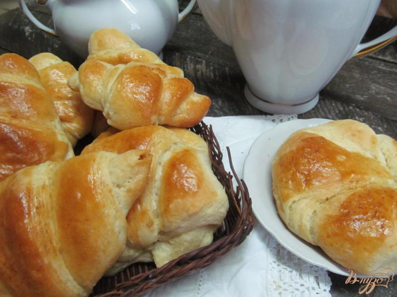 Фото приготовление рецепта: Домашние круассаны шаг №15