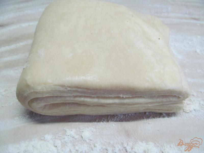 Фото приготовление рецепта: Домашние круассаны шаг №11