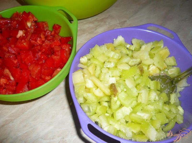 Фото приготовление рецепта: Соте из овощей, заготовка на зиму шаг №2
