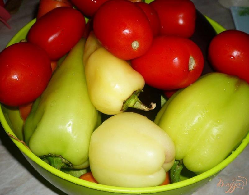 Фото приготовление рецепта: Соте из овощей, заготовка на зиму шаг №1