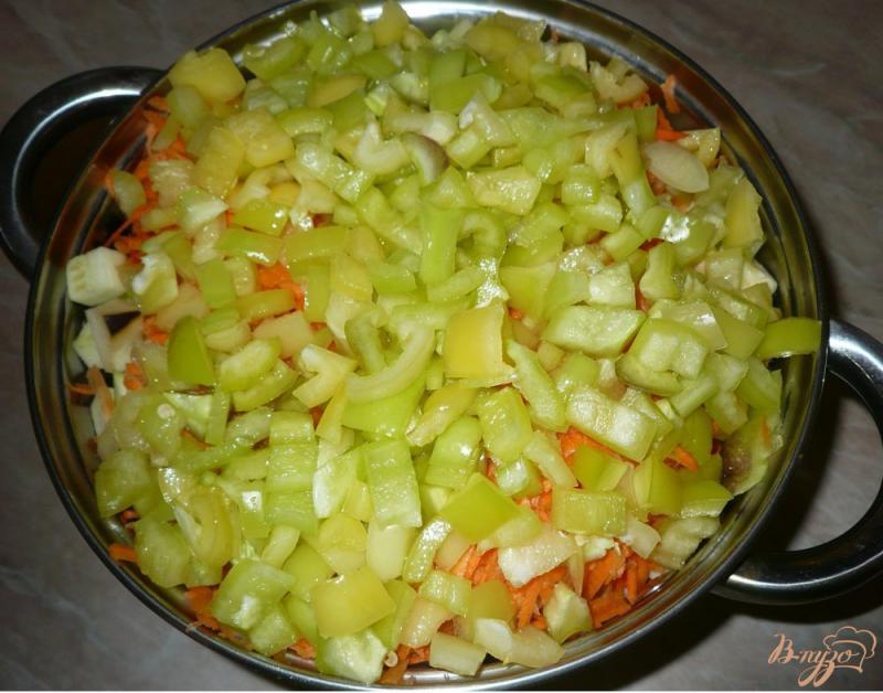 Фото приготовление рецепта: Соте из овощей, заготовка на зиму шаг №8