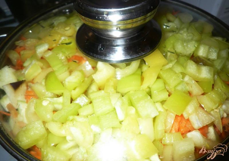Фото приготовление рецепта: Соте из овощей, заготовка на зиму шаг №9