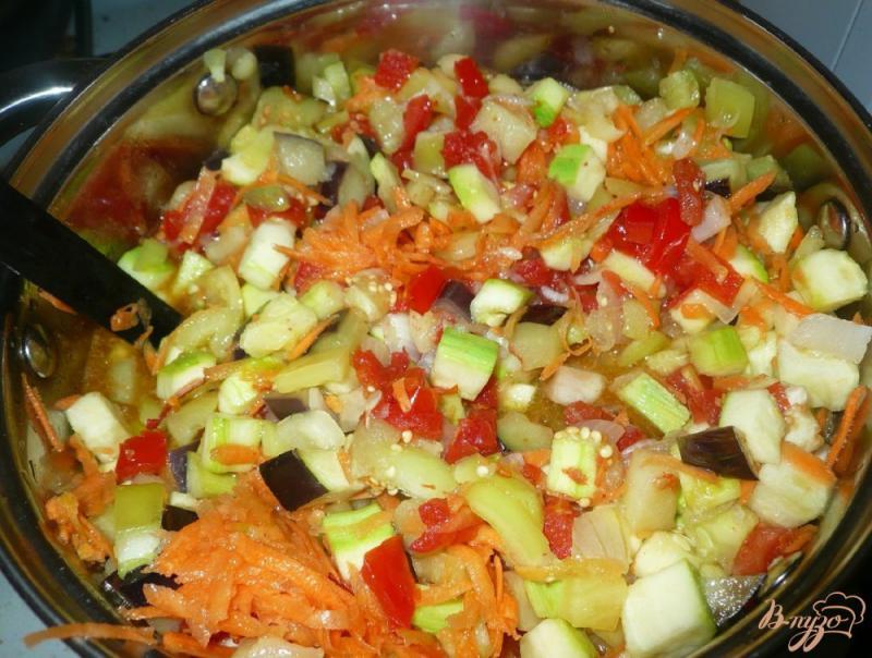 Фото приготовление рецепта: Соте из овощей, заготовка на зиму шаг №10
