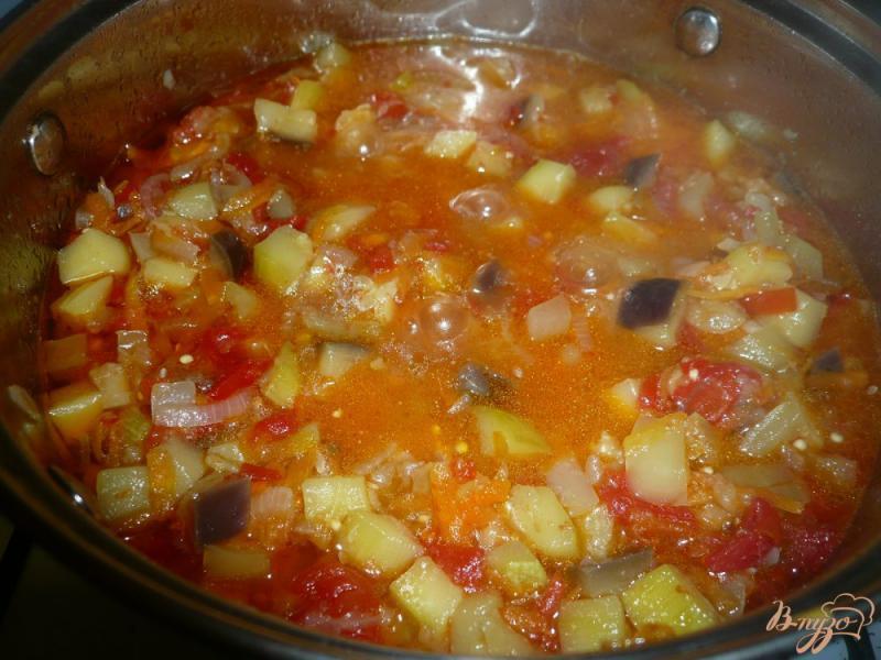 Фото приготовление рецепта: Соте из овощей, заготовка на зиму шаг №11
