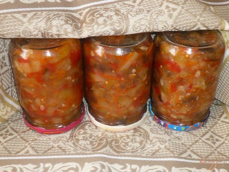 Фото приготовление рецепта: Соте из овощей, заготовка на зиму шаг №12
