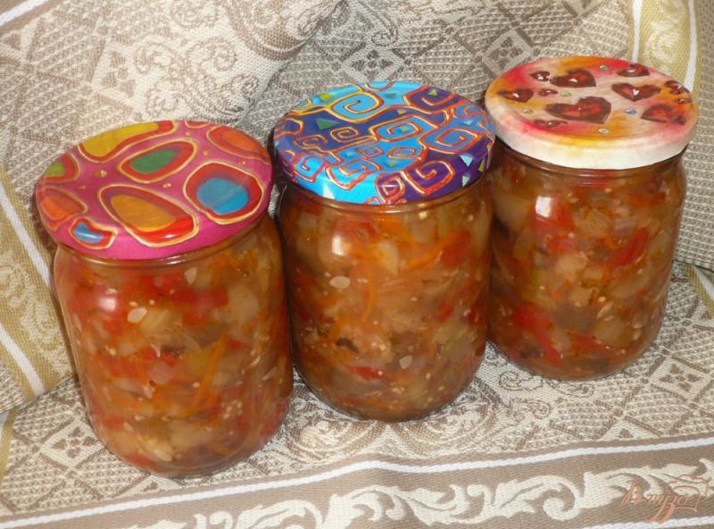 Фото приготовление рецепта: Соте из овощей, заготовка на зиму шаг №13