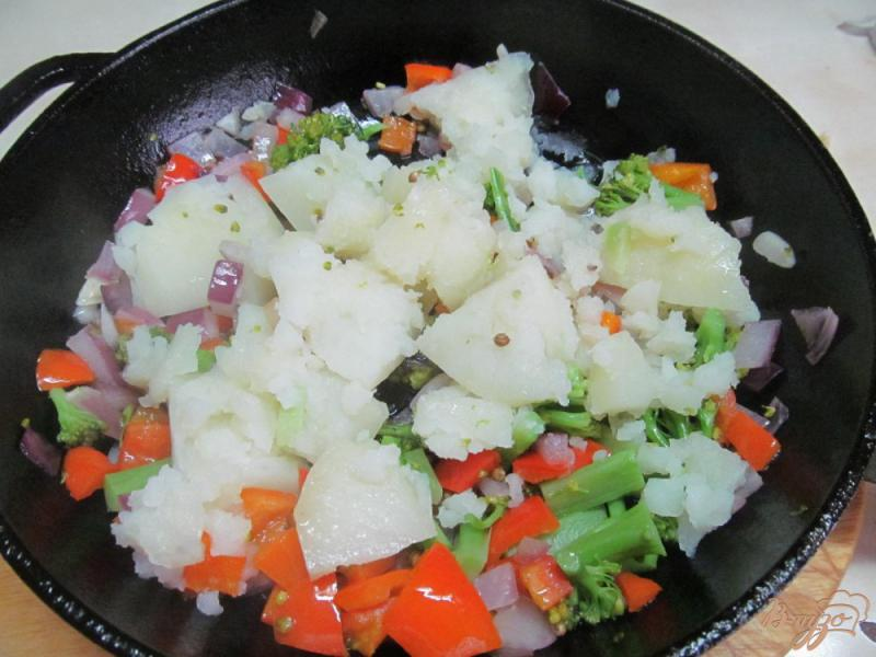 Фото приготовление рецепта: Овощное рагу диетическое шаг №5