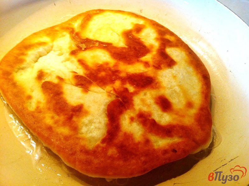Лепешки с сыром и зеленым луком - рецепт пошаговый с фото