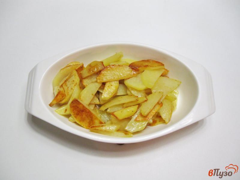 Фото приготовление рецепта: Фрикадельки с картофелем в духовке шаг №6