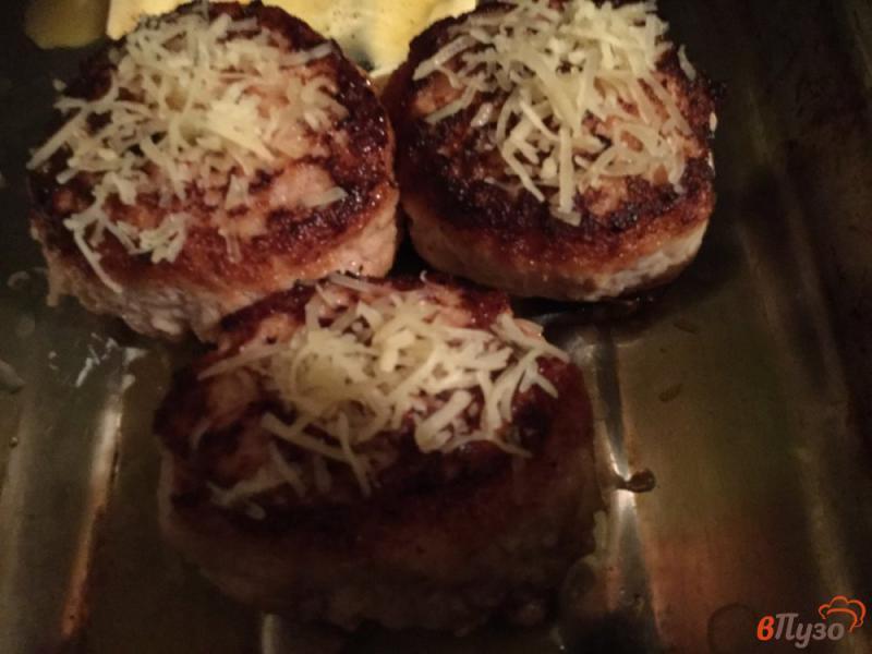 Фото приготовление рецепта: Котлеты с яйцом и сыром шаг №7