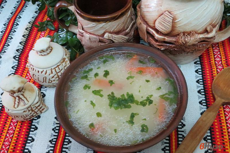 Фото приготовление рецепта: Суп затируха шаг №8