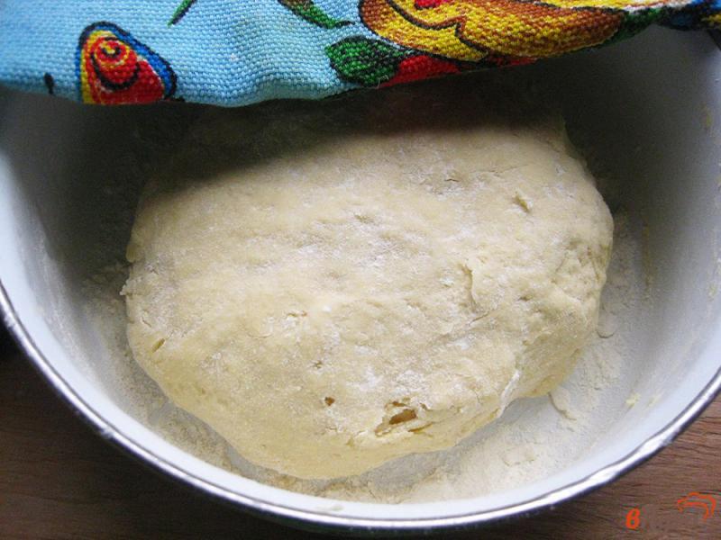 Фото приготовление рецепта: Лепешка кукурузная дрожжевая шаг №5
