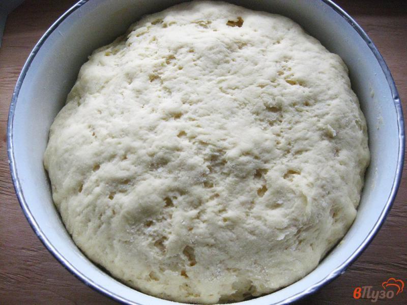 Фото приготовление рецепта: Лепешка кукурузная дрожжевая шаг №6