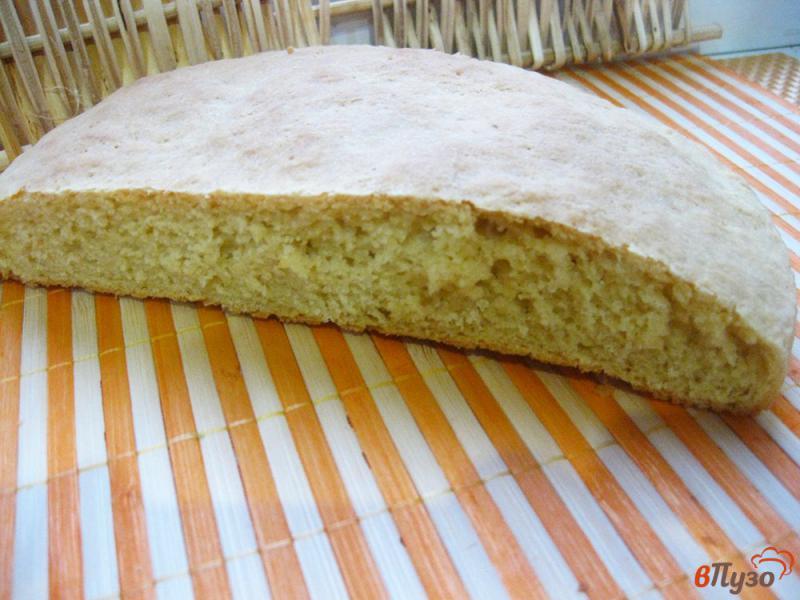 Фото приготовление рецепта: Лепешка кукурузная дрожжевая шаг №10
